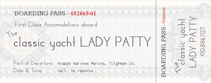 Lady Patty Classic Yacht Charters